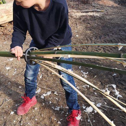 竹割りたい竹割り隊募集中。