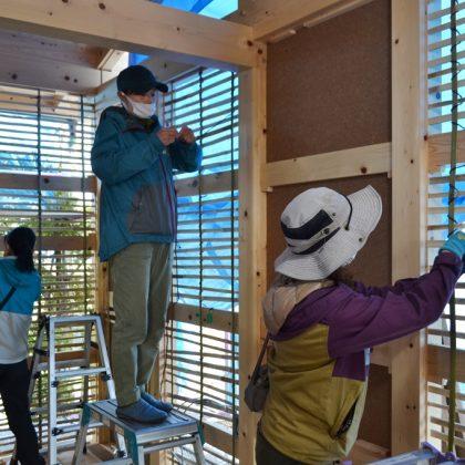木と土と竹の家、構造見学会開催します。